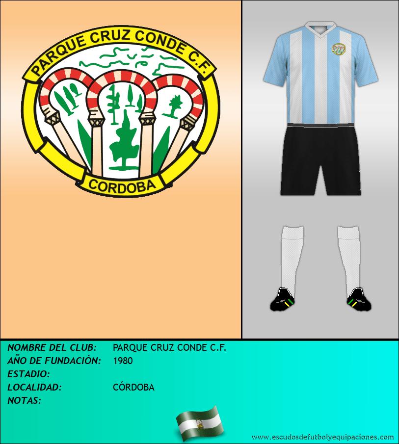 Escudo de PARQUE CRUZ CONDE C.F.