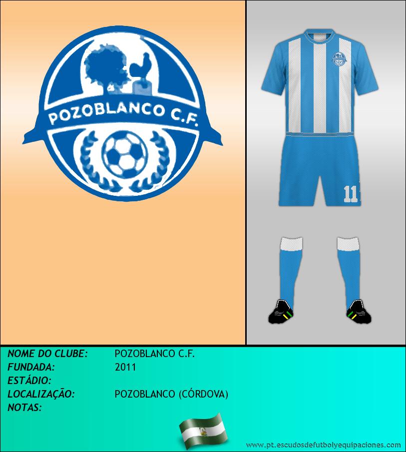 Escudo de POZOBLANCO C.F.