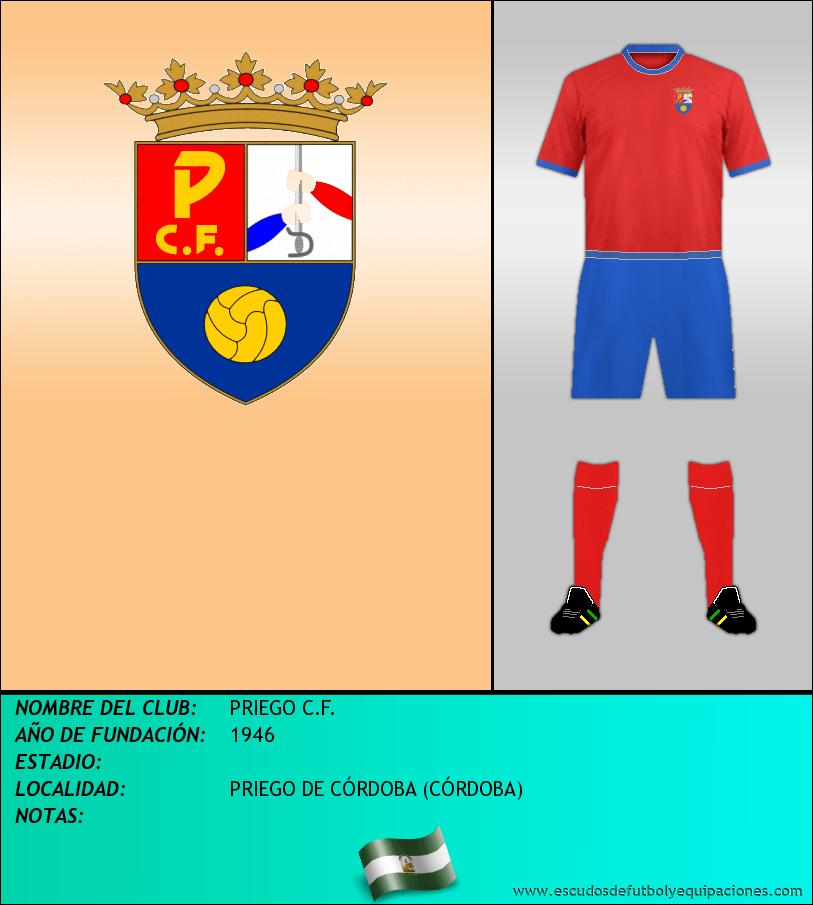 Escudo de PRIEGO C.F.