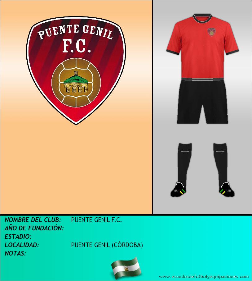 Escudo de PUENTE GENIL F.C.