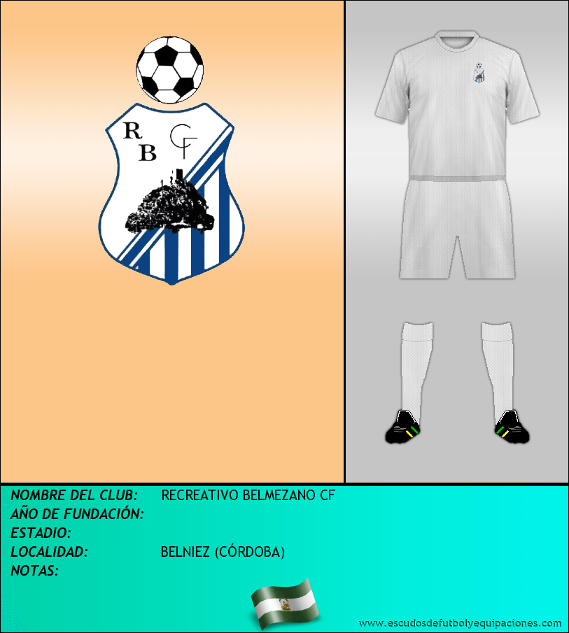 Escudo de RECREATIVO BELMEZANO CF
