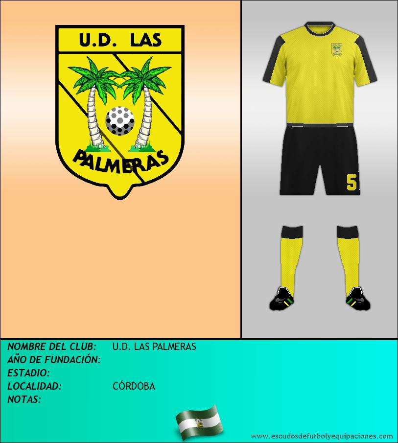 Escudo de U.D. LAS PALMERAS