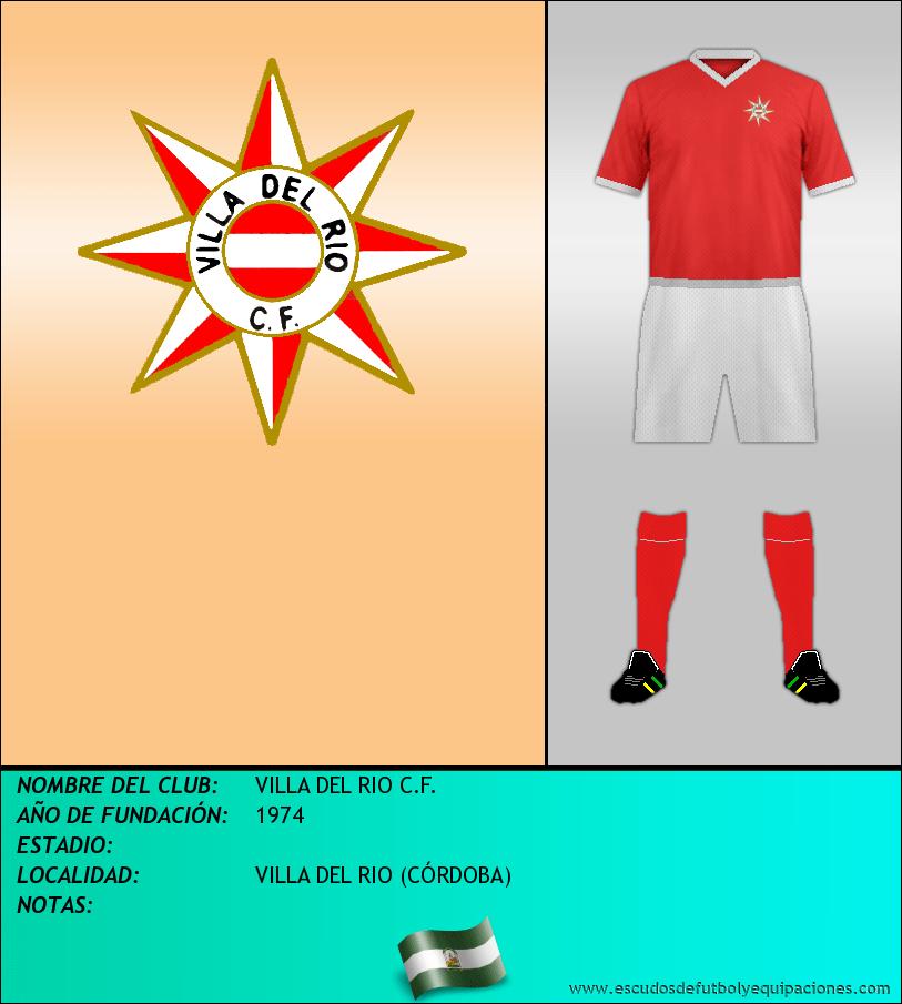 Escudo de VILLA DEL RIO C.F.