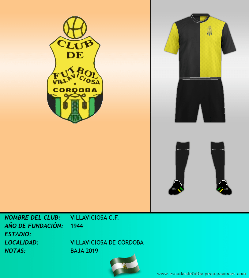 Escudo de VILLAVICIOSA C.F.
