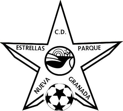 Escudo de C.D. ESTRELLAS PARQUE NUEVA GRANADA (ANDALUCÍA)
