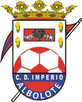 Escudo de C.D. IMPERIO ALBOLOTE  (ANDALUCÍA)