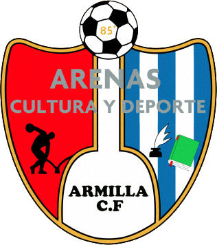 Escudo de C.F. ARENAS DE ARMILLA C.D. (ANDALUCÍA)