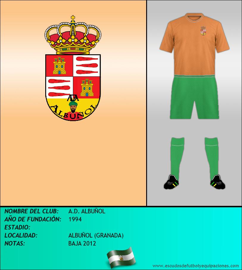 Escudo de A.D. ALBUÑOL