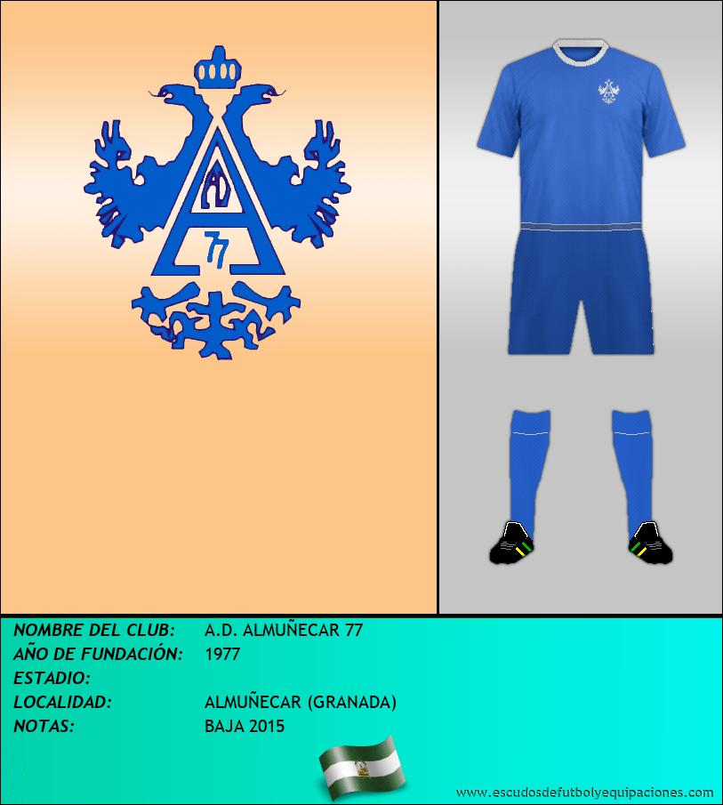 Escudo de A.D. ALMUÑECAR 77