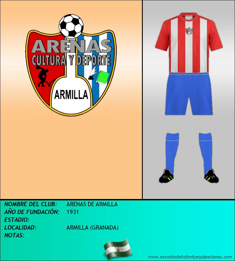 Escudo de ARENAS DE ARMILLA