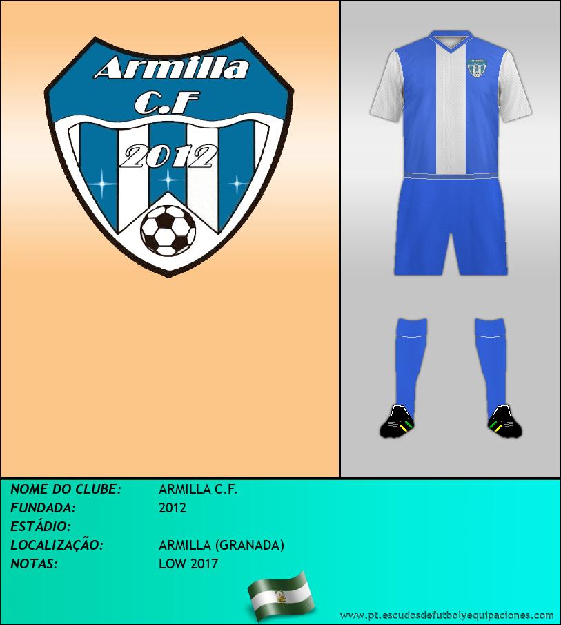 Escudo de ARMILLA C.F.