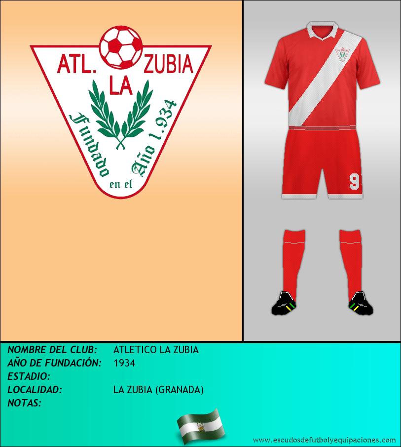 Escudo de ATLETICO LA ZUBIA