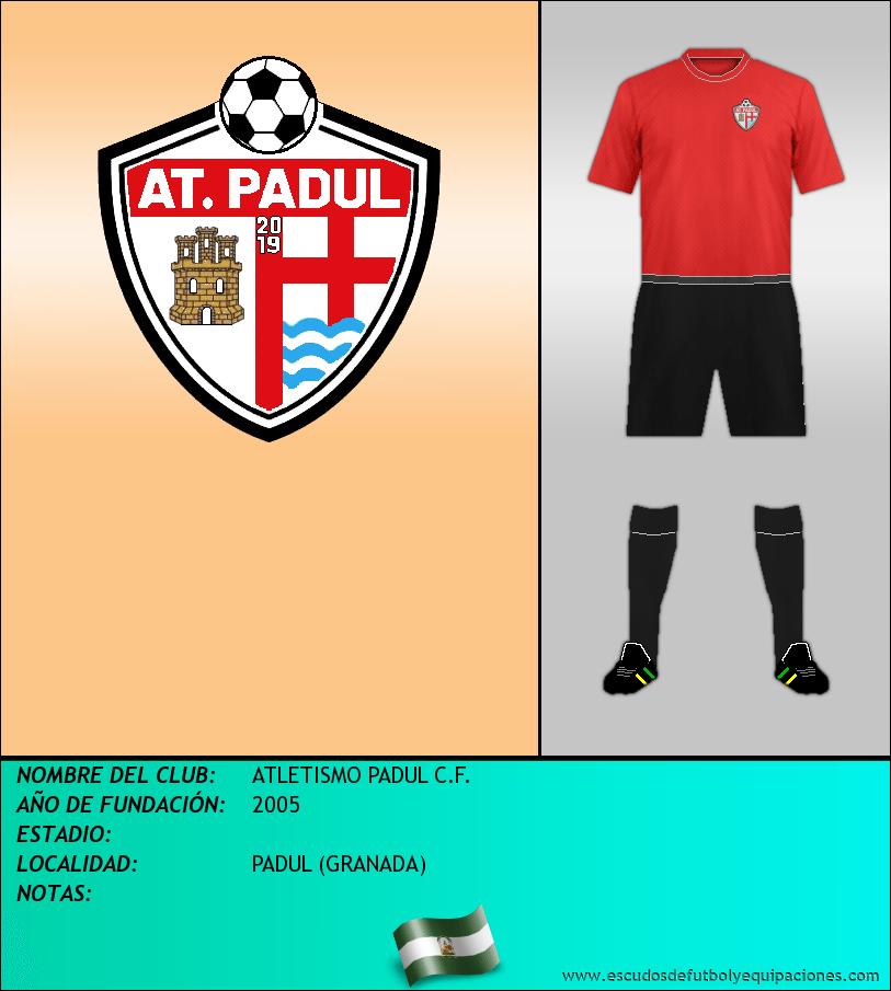 Escudo de ATLETISMO PADUL C.F.