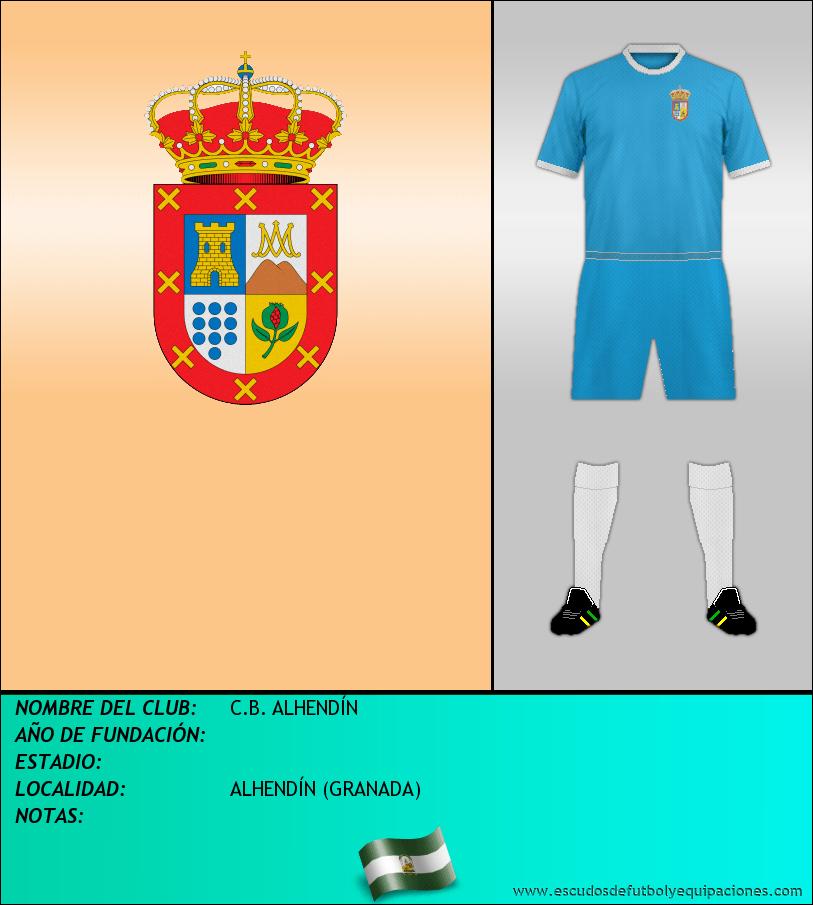 Escudo de C.B. ALHENDÍN
