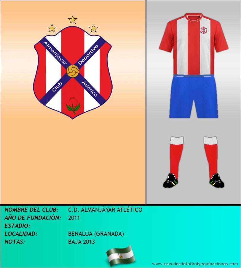 Escudo de C.D. ALMANJÁYAR ATLÉTICO