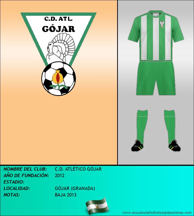 Escudo de C.D. ATLÉTICO GÓJAR