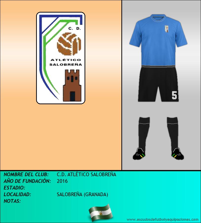 Escudo de C.D. ATLÉTICO SALOBREÑA
