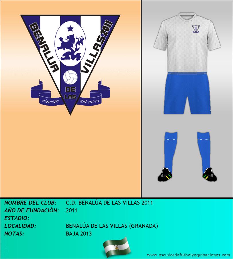 Escudo de C.D. BENALÚA DE LAS VILLAS 2011