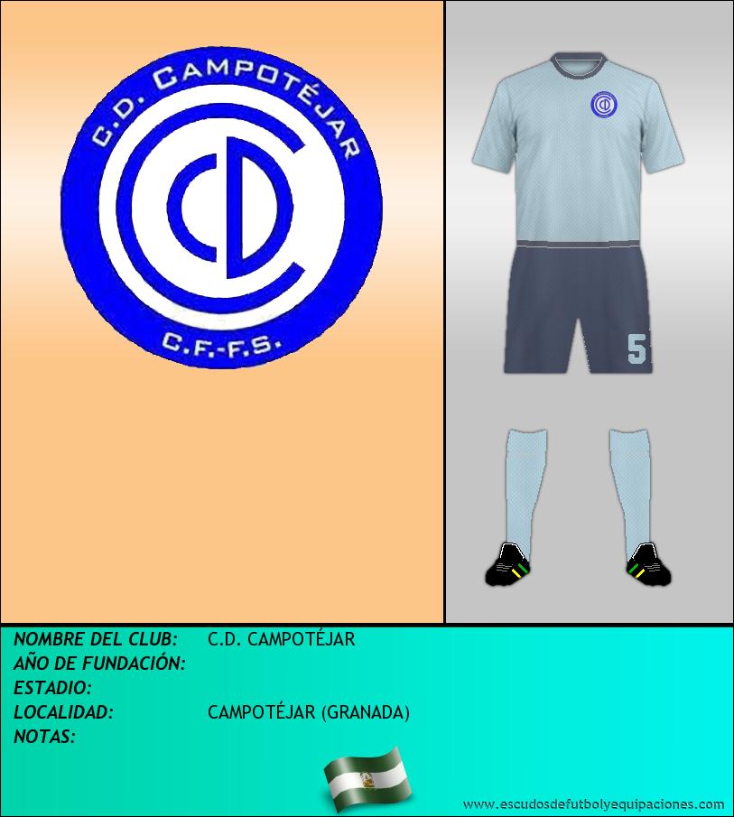 Escudo de C.D. CAMPOTÉJAR