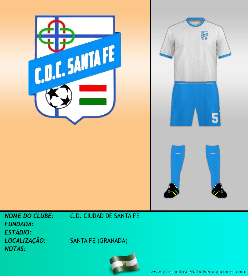 Escudo de C.D. CIUDAD DE SANTA FE