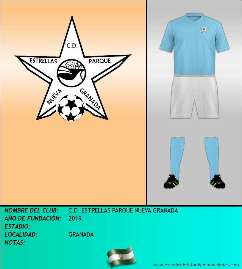 Escudo de C.D. ESTRELLAS PARQUE NUEVA GRANADA