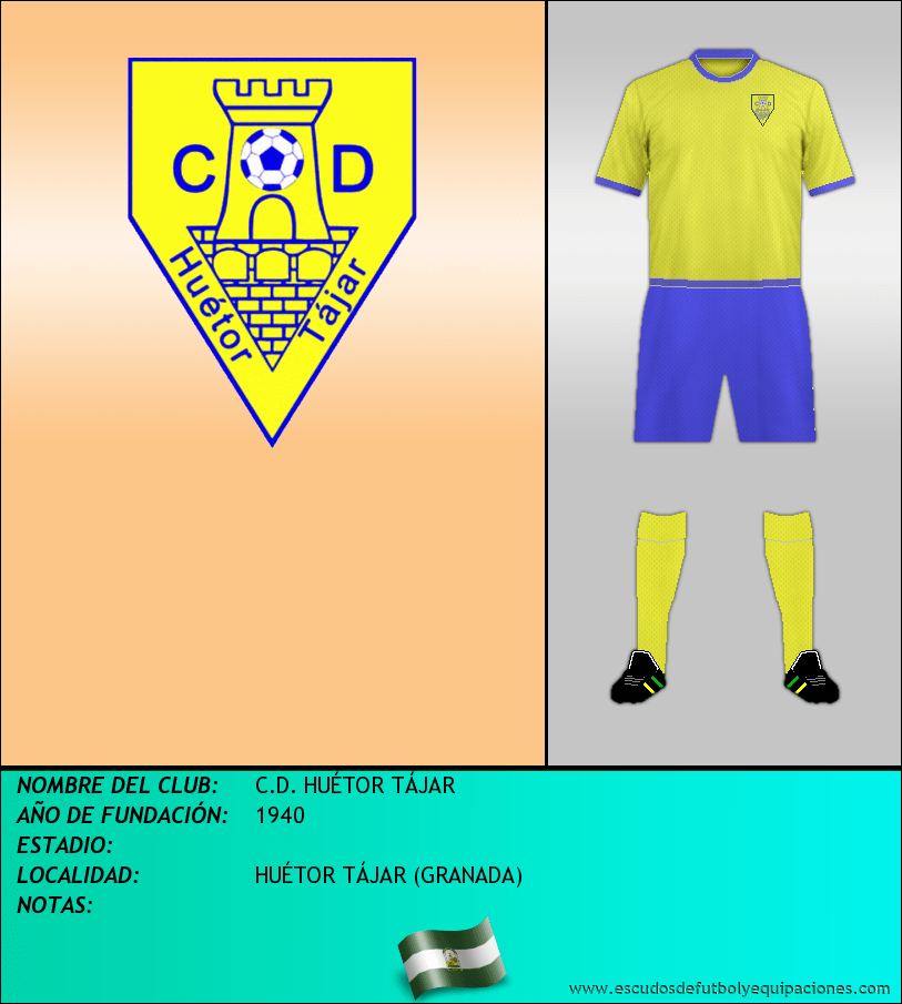 Escudo de C.D. HUÉTOR TÁJAR