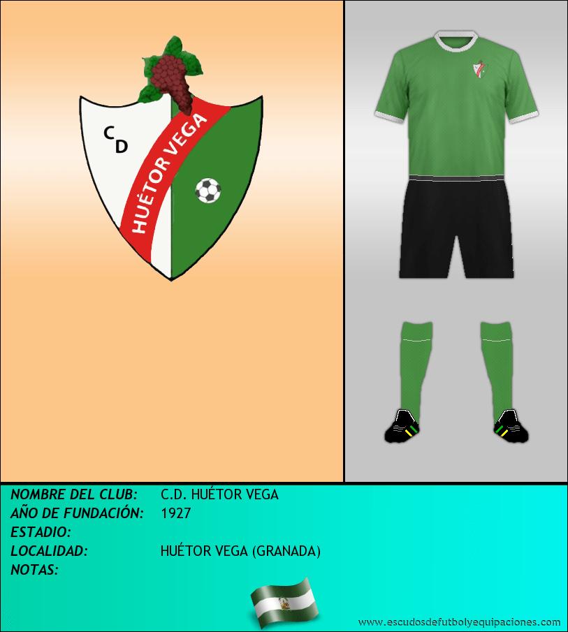 Escudo de C.D. HUÉTOR VEGA