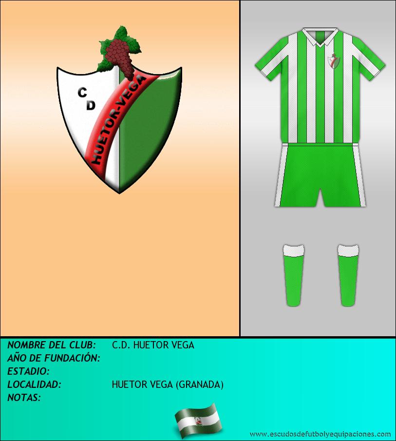 Escudo de C.D. HUETOR VEGA