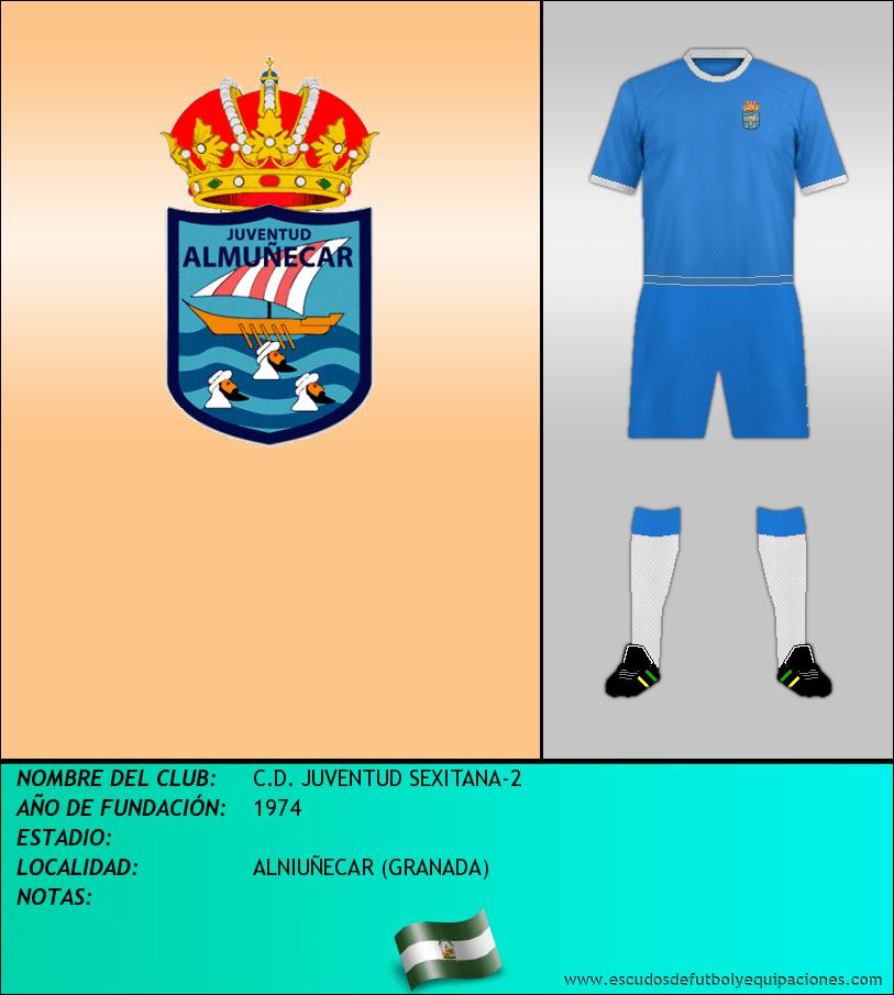 Escudo de C.D. JUVENTUD SEXITANA-2
