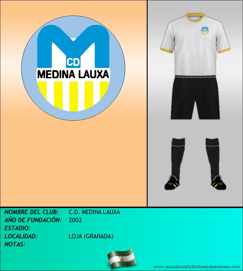 Escudo de C.D. MEDINA LAUXA