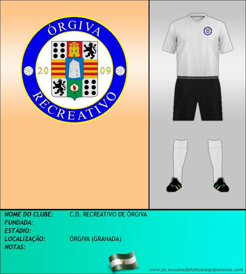 Escudo de C.D. RECREATIVO DE ÓRGIVA