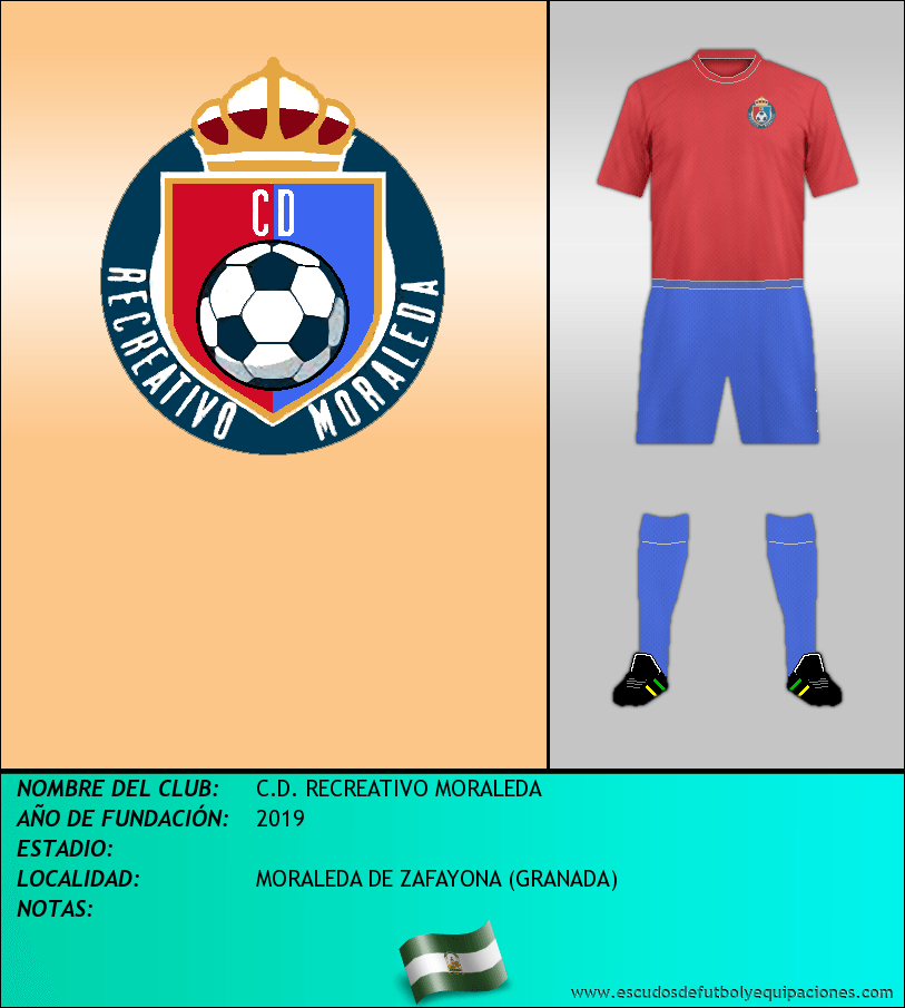 Escudo de C.D. RECREATIVO MORALEDA