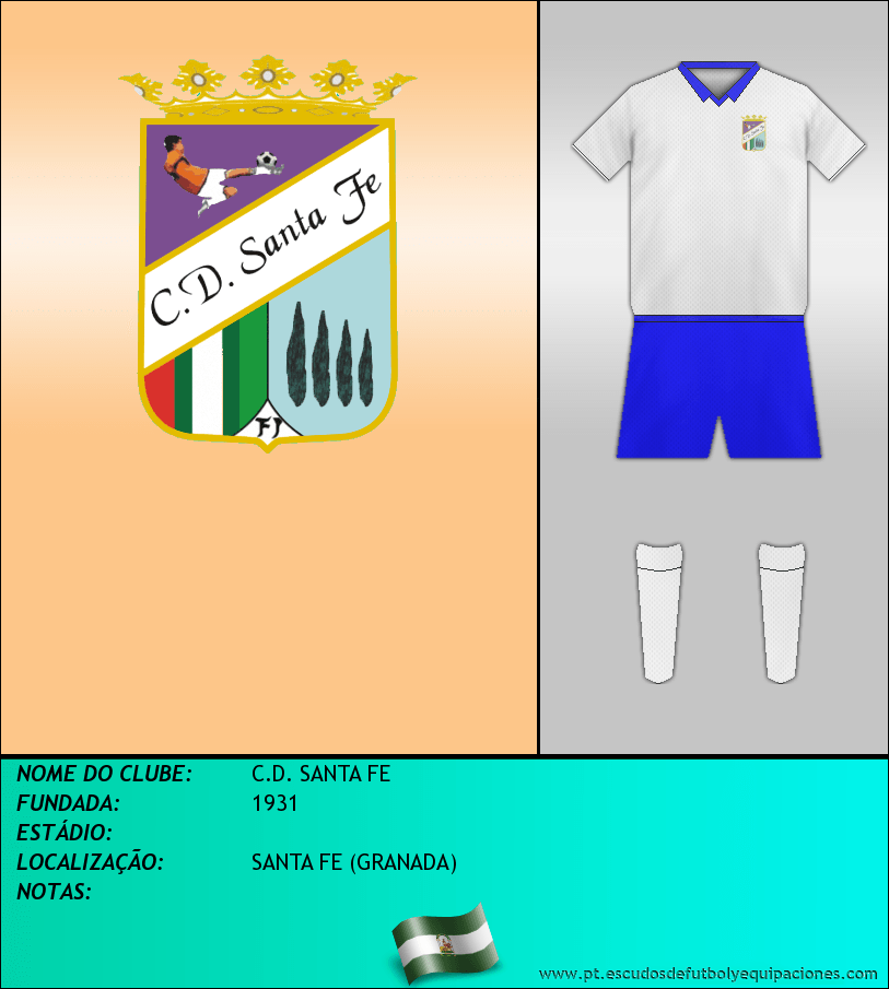 Escudo de C.D. SANTA FE
