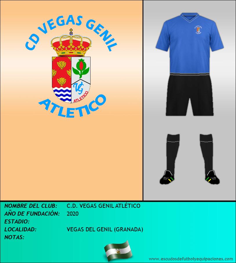 Escudo de C.D. VEGAS GENIL ATLÉTICO