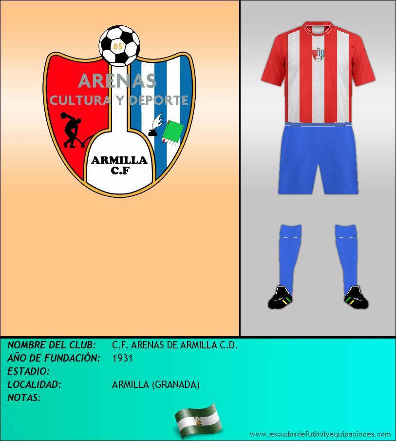 Escudo de C.F. ARENAS DE ARMILLA C.D.