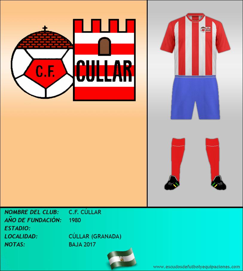 Escudo de C.F. CÚLLAR