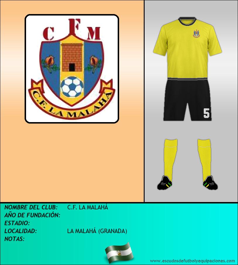 Escudo de C.F. LA MALAHÁ