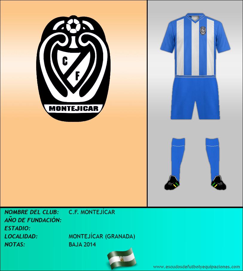 Escudo de C.F. MONTEJÍCAR