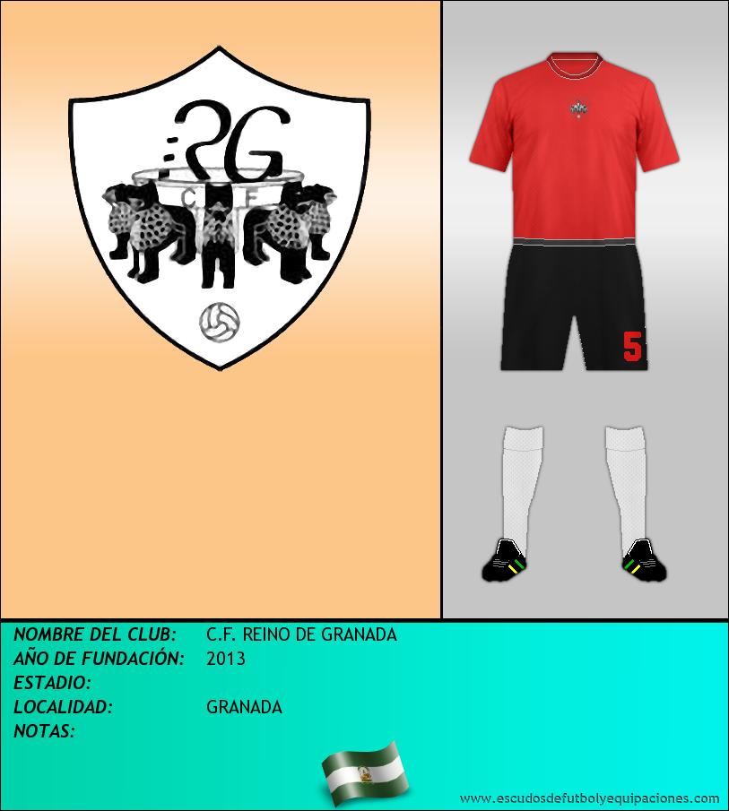 Escudo de C.F. REINO DE GRANADA