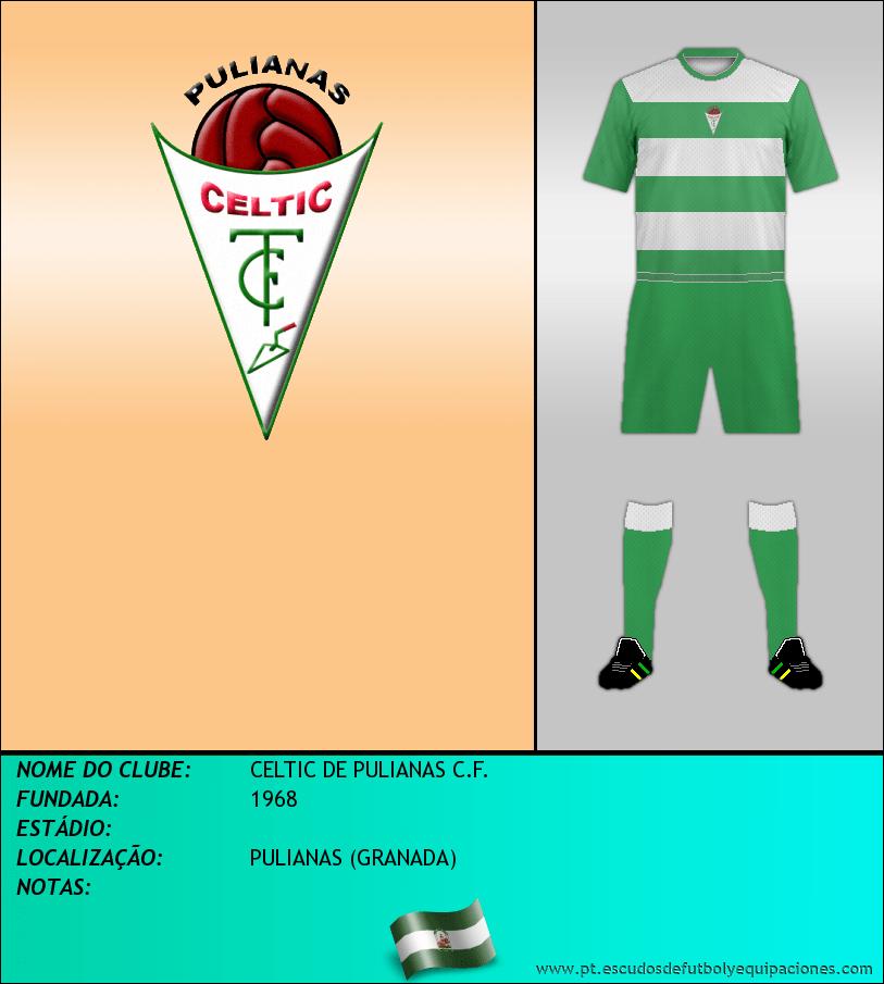 Escudo de CELTIC DE PULIANAS C.F.