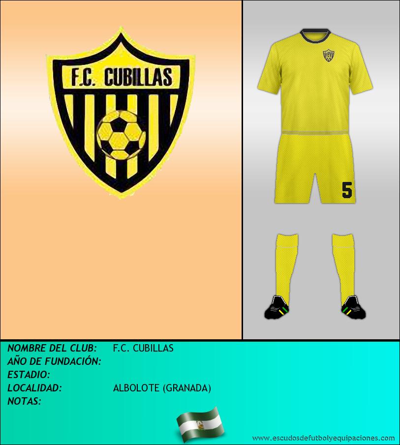 Escudo de F.C. CUBILLAS
