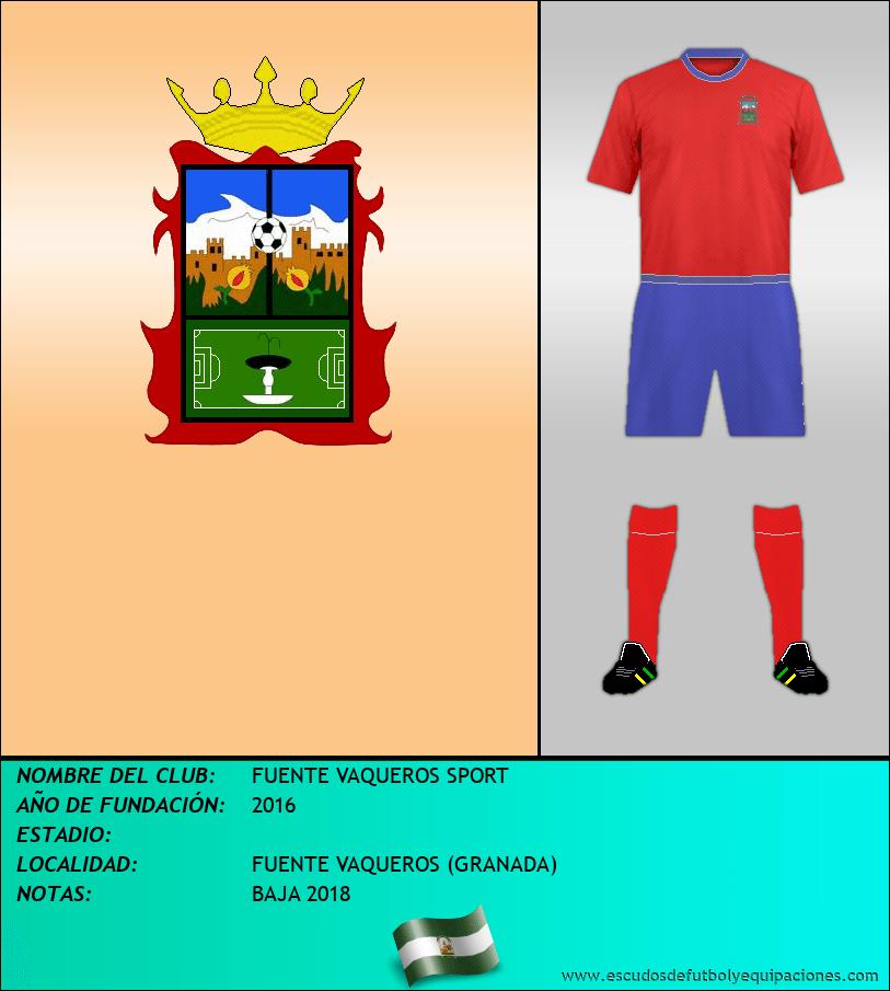 Escudo de FUENTE VAQUEROS SPORT