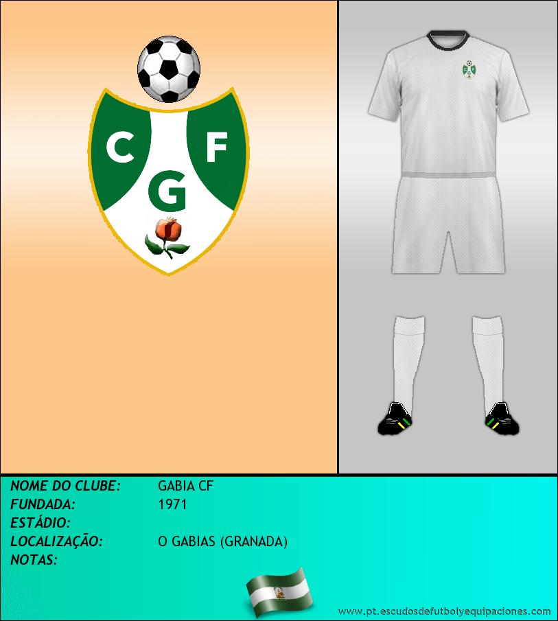 Escudo de GABIA CF