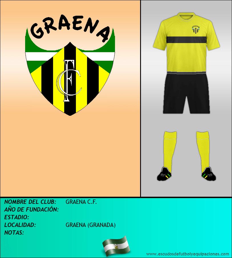 Escudo de GRAENA C.F.