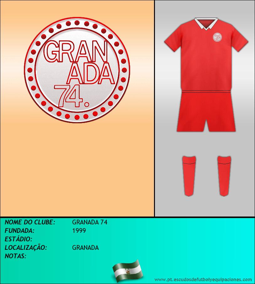 Escudo de GRANADA 74