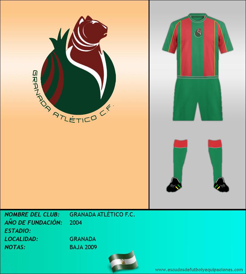 Escudo de GRANADA ATLÉTICO F.C.