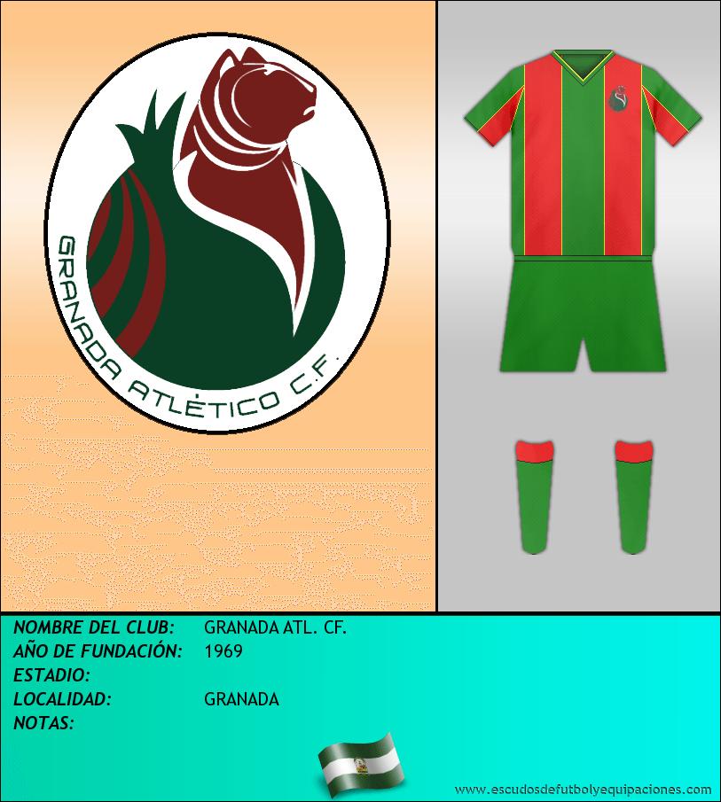 Escudo de GRANADA ATL. CF.