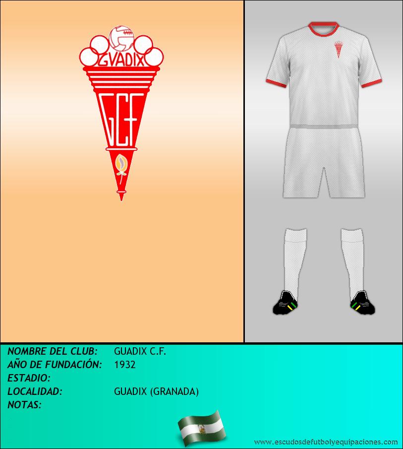 Escudo de GUADIX C.F.