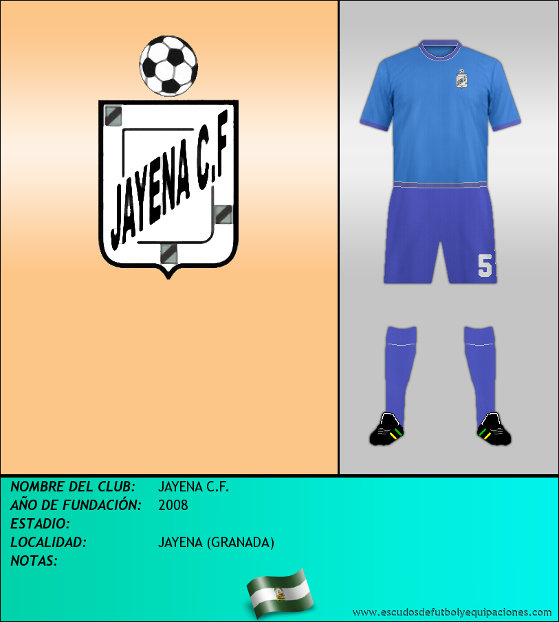 Escudo de JAYENA C.F.