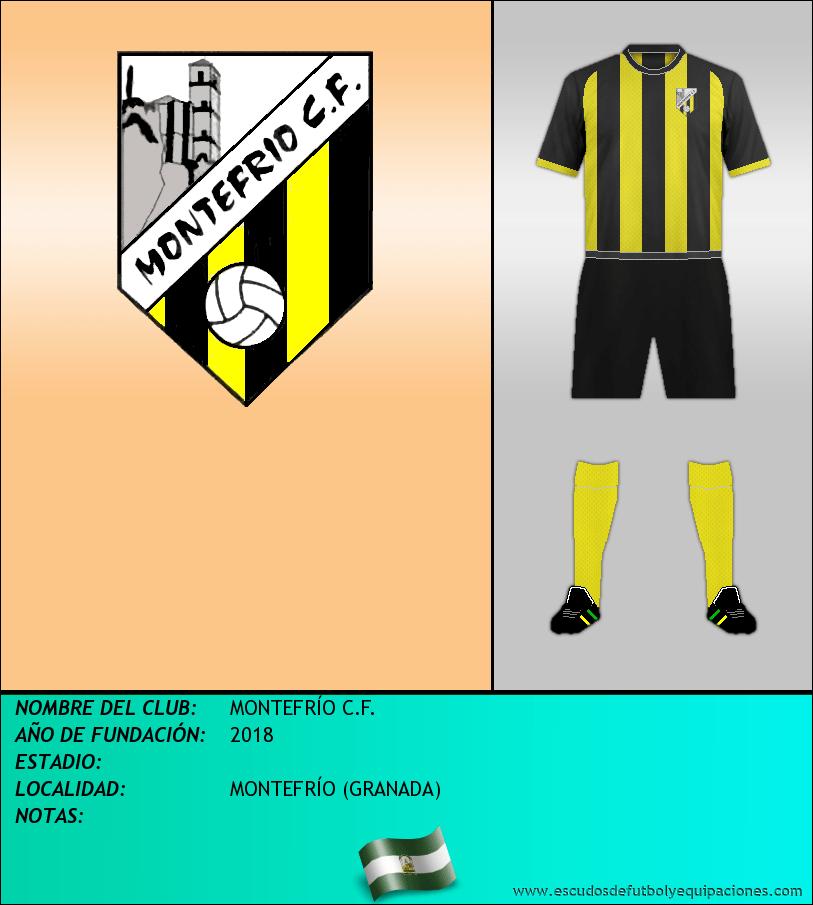 Escudo de MONTEFRÍO C.F.